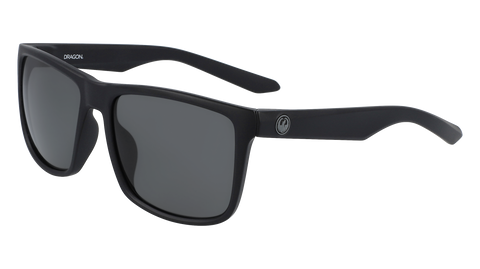 Dragon MERIDIEN H2O Matte Black w/ Smoke Polarised LumaLens
