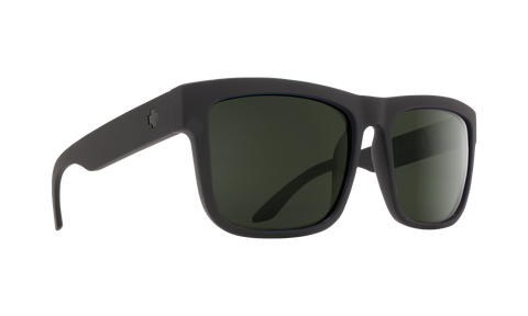 Spy DISCORD Soft Matte Black w/ Happy Grey Polarized