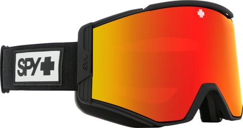 Spy ACE 2020 Matte Black w/ HD Plus Red Spectra Mirror + Bonus lens