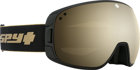 Spy BRAVO 2020 25th Anniv Black Gold w/ HD Plus Gold Spectra Mirror  + Bonus Lens