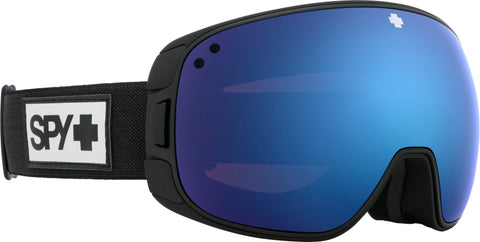 Spy BRAVO 2020 Matte Black w/ HD Plus Dark Blue Spectra Mirror + Bonus Lens