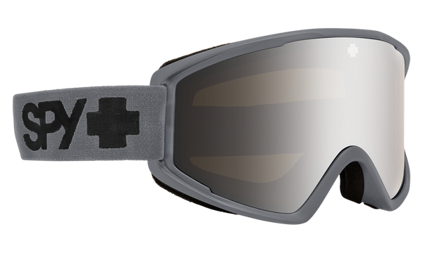Spy CRUSHER ELITE 2020 Matte Grey w/ HD Silver Spectra Mirror