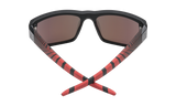 Spy DIRTY MO 2 Matte Black Red Burst w/ HD Plus Red Spectra Mirror Polarised