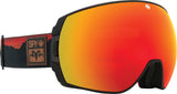 Spy 2020 LEGACY Black Wiley Miller w/ HD Plus Red Spectra + Bonus lens