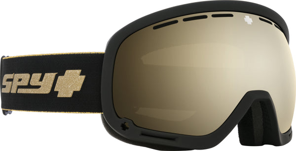 Spy MARSHALL 2020 Black Gold 25th Anniv w/ HD Plus Gold Spectra Mirror + Bonus Lens