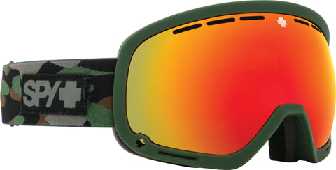 Spy MARSHALL 2020 Camo w/ HD Plus Red Spectra Mirror + Bonus Lens