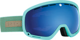 Spy MARSHALL 2020 Herringbone Mint w/ HD Plus Dark Blue Spectra + Bonus Lens
