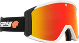 Spy 2020 RAIDER White/Black Fireball w/ HD Red Spectra Mirror + Bonus lens