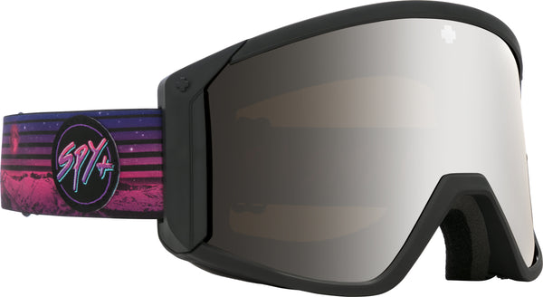 Spy 2020 RAIDER Black Chris Rasman w/ HD Silver Spectra Mirror + Bonus lens