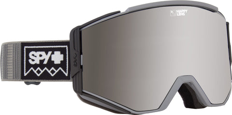 Spy ACE 2019 Deep Winter Grey w/ Happy Silver Spectra + Bonus lens