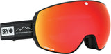 Spy LEGACY 2019 Essential Black w/ Happy Red Spectra + Bonus Lens