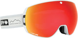 Spy LEGACY 2019 Essential White w/ Happy Red Spectra + Bonus Lens