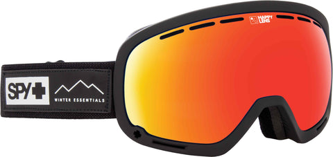 Spy MARSHALL 2019 Black w/ Happy Red Spectra + Bonus Lens