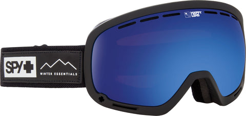 Spy MARSHALL 2019 Black w/ Happy Dark Blue Spectra + Bonus Lens