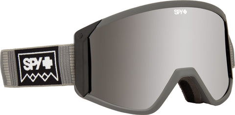 Spy 2019 RAIDER Deep Winter Grey w/ Happy Silver Spectra + Bonus lens