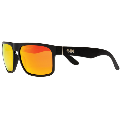 SIN Peccant Rubber Raven w/ Red Flash Polarised