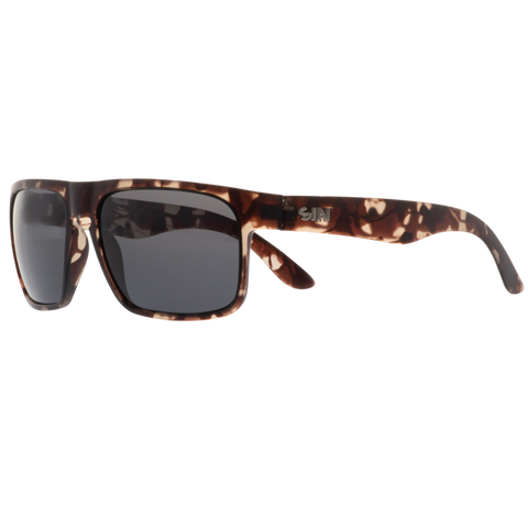 SIN Peccant Matte Grey Tort w/ Smoke Polarised