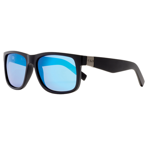SIN Riot Matte Black w/ Blue Flash Polarised