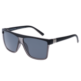 SIN Undertow Matte Raven Black & Grey w/ Smoke Polarised