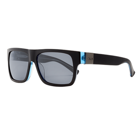 SIN Zephyr II Matte Black Crystal Blue w/ Smoke Polarised