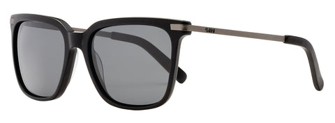SIN Wild Card Matte Raven Black w/ Smoke Polarised