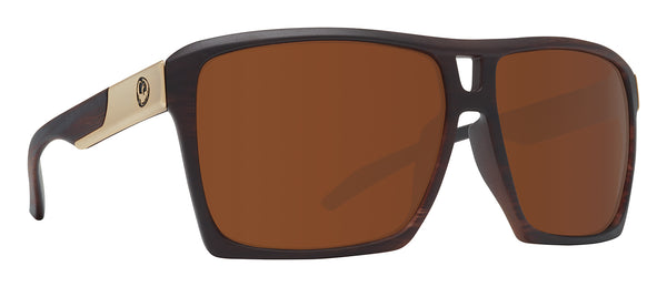 Dragon The Verse Matte Woodgrain w/ Bronze Polarised