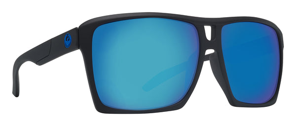 Dragon The Verse H2O Matte Black w/ Blue Ion Polarised