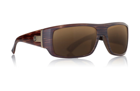 Dragon Vantage Matte Woodgrain w/ Bronze Polarized P2
