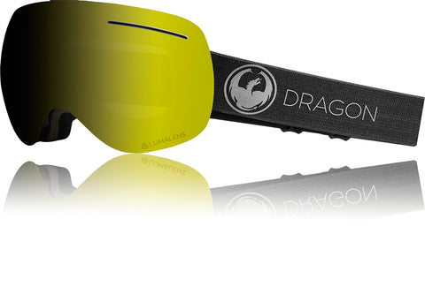Dragon 2019 X1 Echo Black w/ Photochromic Yellow