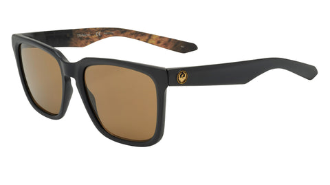 Dragon BAILE Matte Black Lynxx w/ Brown LumaLens (Mick Fanning)