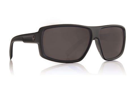 Dragon DOUBLE DOS Matte Black H2O w/ Grey Polarised