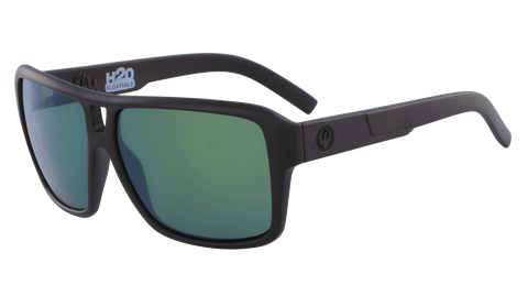 Dragon The Jam H2O Matte Black w/ LumaLens Petrol Polarised P2