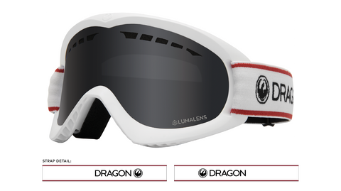 Dragon 2020 DX Retro White w/ Dark Smoke LumaLens