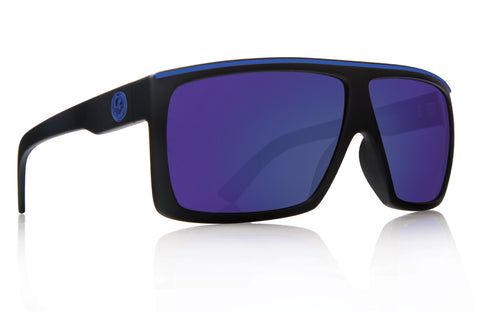 Dragon Fame H2O Matte Black w/ Blue Ion Polarized