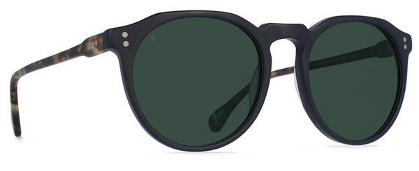 Raen Remmy 52 Matte Black & Brindle w/ Smoke Polarised
