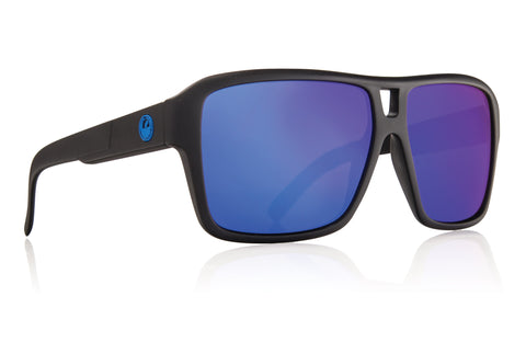 Dragon The Jam H2O Matte Black w/ Blue Ion Polarized P2