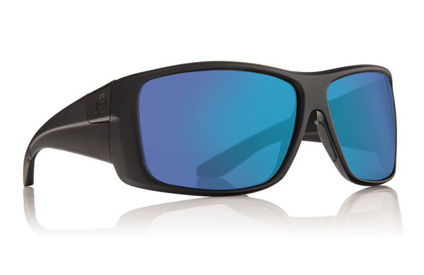 Dragon KIT Matte Black w/ Blue Ion Polarized P2