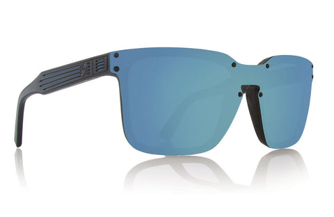 Dragon MANSFIELD Mick Fanning Matte Black w/ Blue Ion