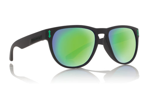 Dragon Marquis Matte Black H2O w/ Green Ionised Polarised
