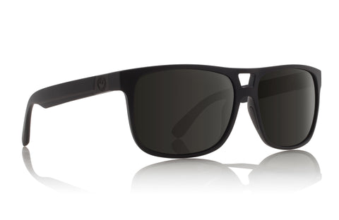 Dragon Roadblock H2O Matte Black w/ Grey Polarised P2
