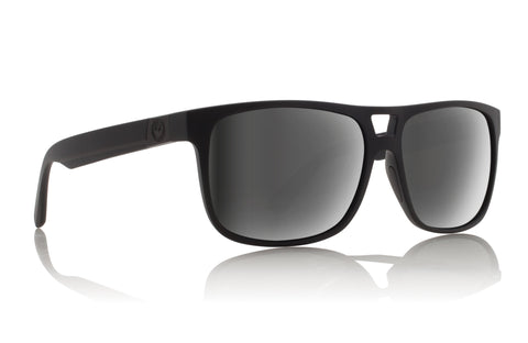 Dragon Roadblock H2O Matte Black w/ Silver Ion Polarised P2