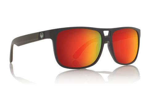 Dragon Roadblock H2O Matte Magnet Grey w/ Red Ion Polarised P2