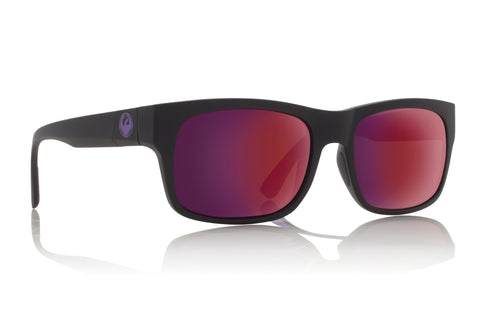 Dragon Tailback H2O Matte Black w/ Plasma Ion Polarised P2