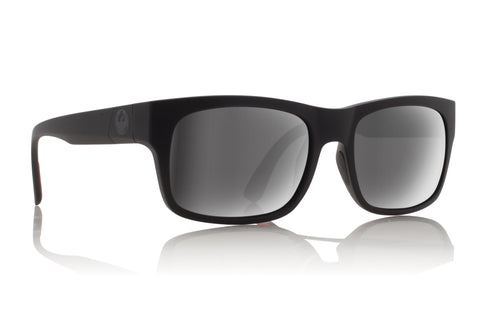 Dragon Tailback H2O Matte Black w/ Silver Ion Polarised P2