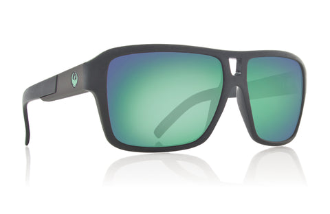 Dragon The Jam H2O Matte Black w/ Green Ionised Polarized P2 LumaLens