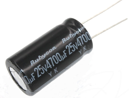 Rubycon, Radial Electrolytic Capacitor 4700uF 25V