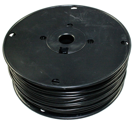 18 AWG Black, Stranded PVC wire - By the foot