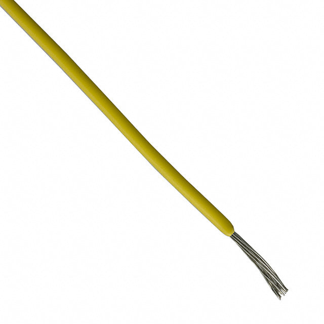 26 Gauge Yellow, Stranded PVC - 300 feet