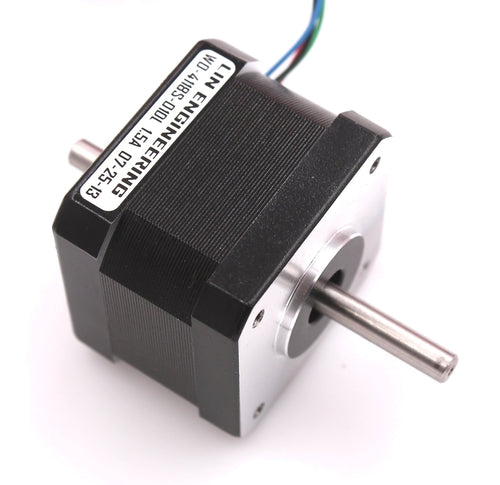 Lin Engineering, NEMA17, 4118S-04DEL Dual shaft unipolar stepper motor