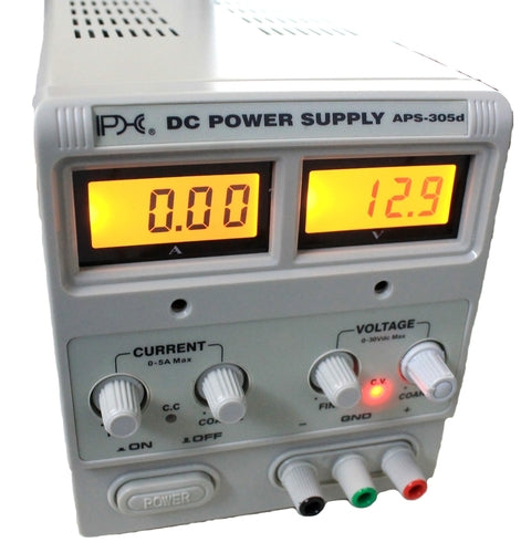 PHC, Digital Bench Supply, 0-30VDC, 5A